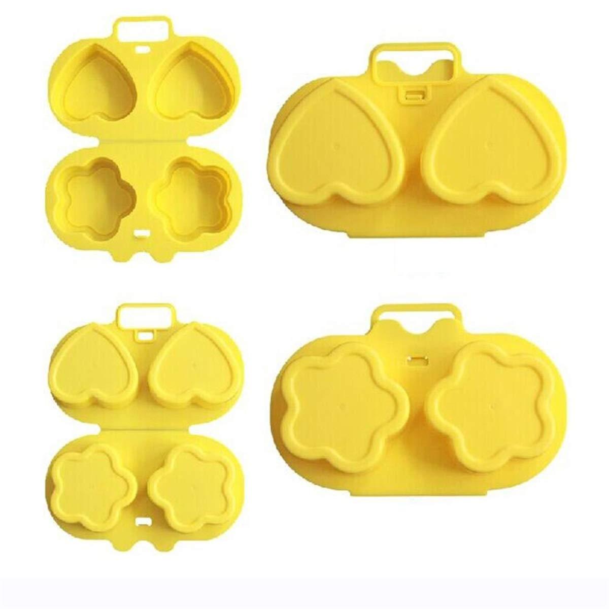 JJohnsn Microondas Cocedor de Huevos Vapor de Huevos Molde de ...