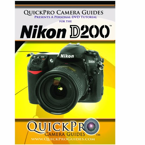 Nikon D200 Instructional DVD by QuickPro Camera ()