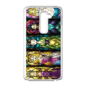 SANYISAN Disney stained glass Case Cover For LG G2 Case