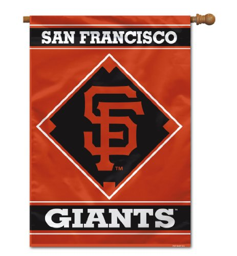 MLB San Francisco Giants House Banner, 28 x 40-Inch