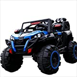 XITER Piano Children's Remote Control Off-road Vehicle Can Take People Electric Car Four-wheel Drive Male And Female Baby 1-8 Years Old Bluetooth Remote Control ( Color : Blue )
