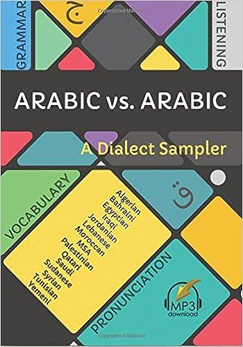 Arabic vs  Arabic: A Dialect Sampler: Matthew Aldrich
