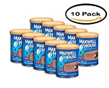 PACK OF 10 - Maxwell House Hazelnut Ground Coffee, 11 OZ (311g)