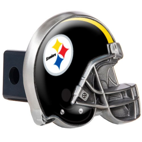 - NFL Pittsburgh Steelers Helmet Trailer Hitch Cover