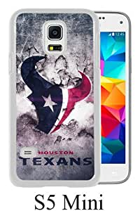 Houston Texans 22 White Abstract Custom Design Samsung Galaxy S5 Mini Protective Phone Case