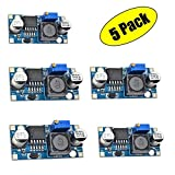 Efly 5 Pack LM2596 DC to DC 3A Buck Converter 3-40V to 1.5-35V Power Supply Step Down Module