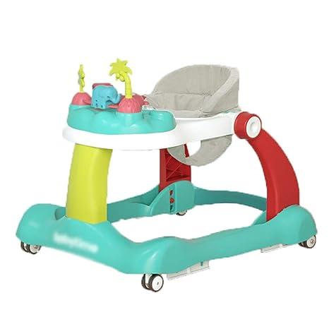 LMSTC Andador para bebés, andador de actividades de la caja de ...