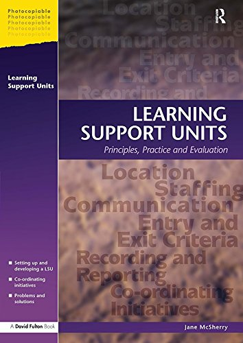 Learning Support Units: Principles, Practice and Evaluation ()