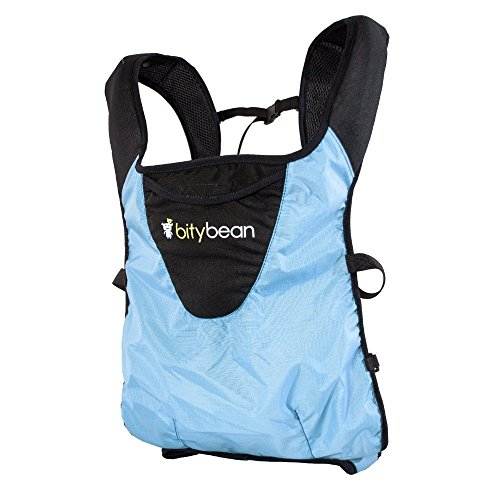 Bitybean UltraCompact Baby Carrier - Sky Blue - One Size