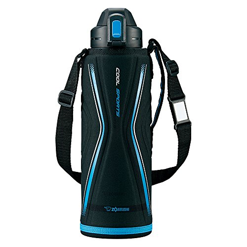 Zojirushi stainless cool bottle ''TUFF'' (1.55L) Blue Black SD-EB15-BB by Zojirushi