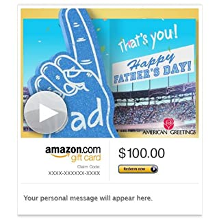 Amazon Gift Card - Email - Dad Is #1 (Animated) [American Greetings] (B00CT79TYU) | Amazon price tracker / tracking, Amazon price history charts, Amazon price watches, Amazon price drop alerts