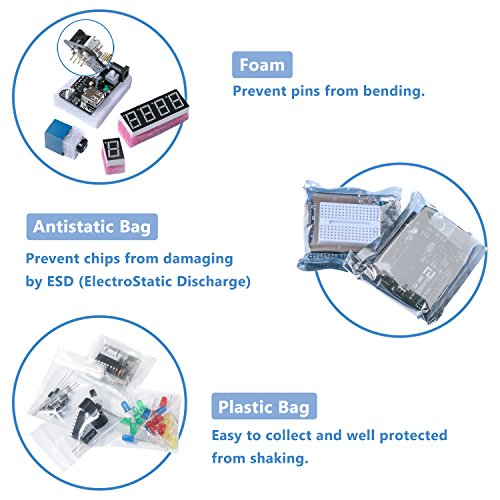Elegoo uno project super starter kit with tutorial for