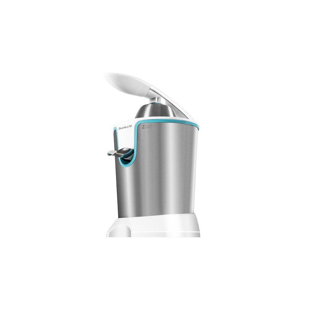 Exprimidor Eléctrico de Brazo Cecomix Adjust White 4076 160W Acero: Amazon.es: Hogar