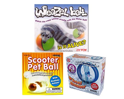 Weazel Ball, Scooter Pet Ball and Wheel Runner (Scooter Ball)