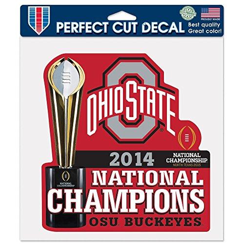 National Football Champions Ohio State University 8