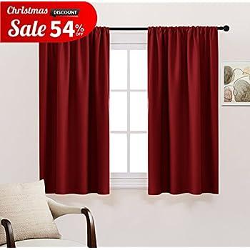 Bedroom Blackout Window Curtain Panels