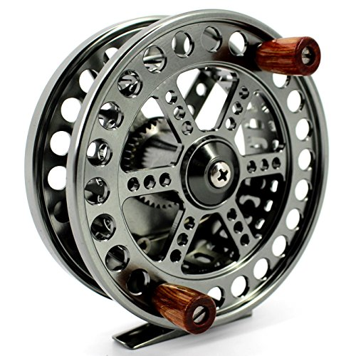Saion 4.25 inches Float Reel Centre Pin Reel Steelhead Fishing Coarse Trotting Centerpin 108mm