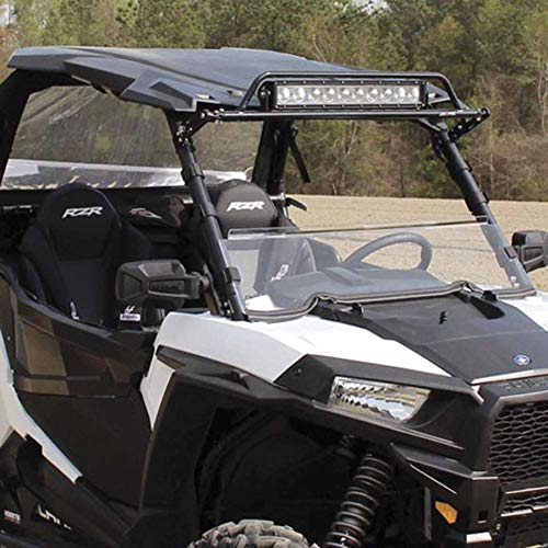 (Half Acrylic Windshield For 2014 Polaris Ranger 900 XP Utility Vehicle )