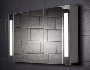 Galdem gacurve120 armario con espejo para ba o amazon - Armarios bano amazon ...