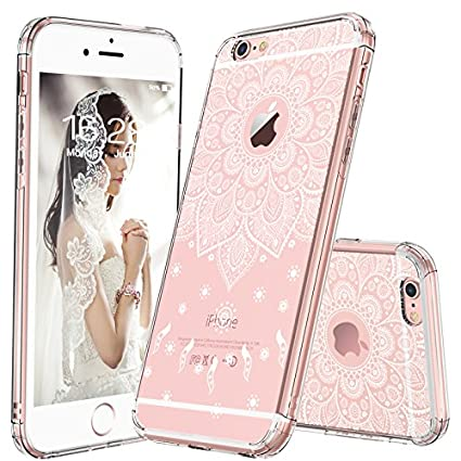 Amazoncom Mosnovo Iphone 6s Caseiphone 6 Case White Peace