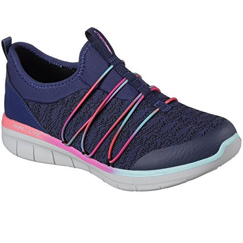 multi Chic 0 Synergy simply Navy 2 Skechers Sneaker Infilare Donna Blu xvq7IZwdE
