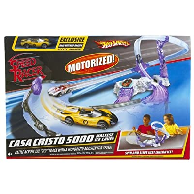 Mattel Speed Racer Movie Moments Casa Cristo 5000 Maltese Ice Caves with Racer X: Toys & Games