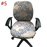Wall of Dragon Computer Chair Coverings Office Chair Covers Flower Printed Chair Covers Stretch Rotating Lift Chair Cover Home Textile