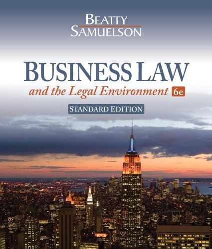 Pdf Law Business Law and the Legal Environment, Standard Edition