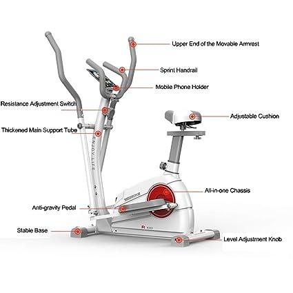 YXRPK Multifuncional Professional De Ejercicio Bicicleta Estática ...