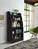 Altra Furniture Ameriwood Home Hazel Kids 4 Shelf Bookcase, Espresso