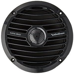 Rockford Fosgate RM1652B Prime M0 6.5 Inch Marine Coax Speaker Black Pair