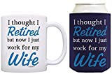 Best ThisWear Wife And Mom Coffee Mugs - Retirement Gifts for Men I Thought I Was Review