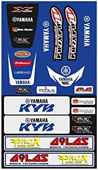 4MX Honda Stickers Sheet Small