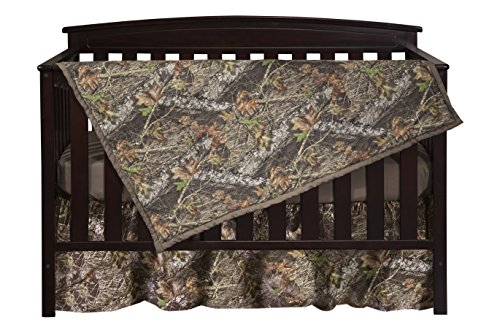 Carstens Camo 3-Piece Crib Sheet Set, Mossy Oak - Oak Baby Cribs
