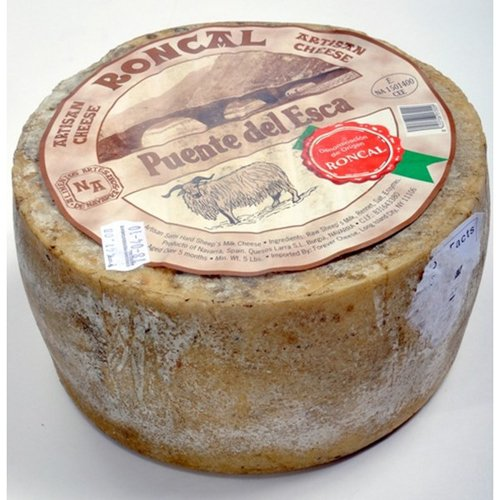 Roncal Sheep Cheese (Whole Wheel) Approximately 7 Lbs by For The Gourmet (Image #1)