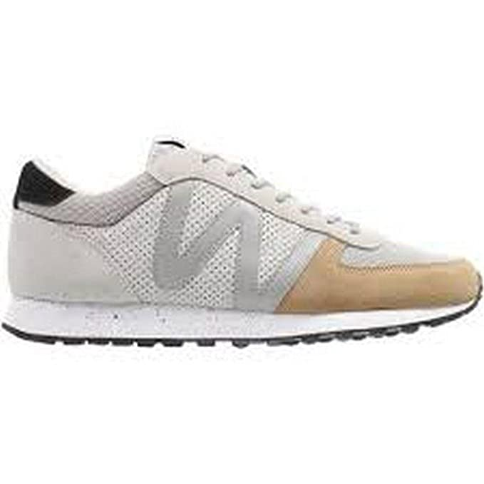 sports shoes 9f774 16ba1 WESC Scarpe Uomo Post Runner G109121109 Birch AI16: Amazon ...