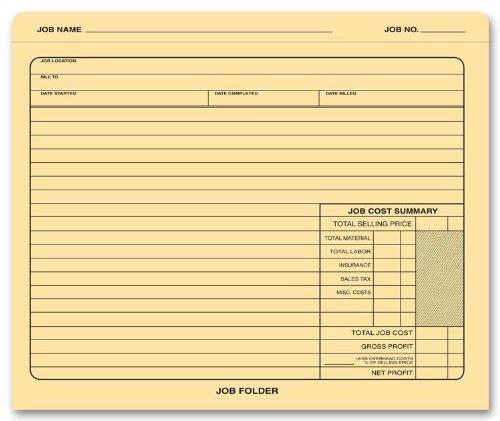 Job File - 9