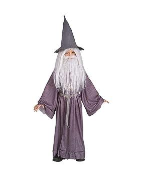 Horror-Shop Gandalf Vestuario Infantil Delxue S: Amazon.es ...