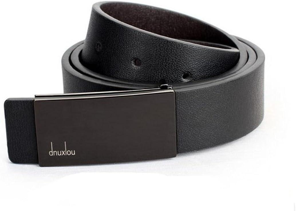 fibbia della cintura Vovotrade/® Uomini automatico Fibbia in pelle di vita formale Strap Cinture
