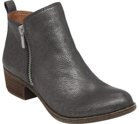 Lucky Brand Women's Basel,Pewter Leather,US 5.5 - Warehouse Blog