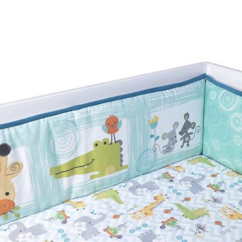 Lambs & Ivy Bumper, Yoo-Hoo by Lambs & Ivy
