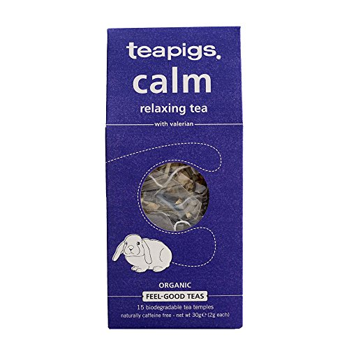 teapigs Organic Calm Relaxing Tea, 15 Count (Pack of 6)