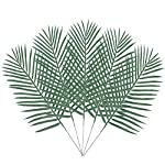 BAKAA-Artificial-Palm-Leaf-Tree-Faux-Plastics-Leaves-Green-Plants-Greenery-for-Flowers-Arrangement-Wedding-Decoration-Faux-Palm-Leaves-10PCS