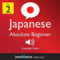 Learn Japanese with Innovative Language's Proven Language System - Level 2: Absolute Beginner Japanese