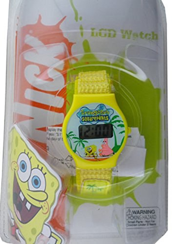 - SpongeBob: Wrist Watch / Yellow / LCD Watch