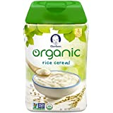 Gerber Baby Cereal Organic Rice Cereal, 8 Ounce, 6 Count