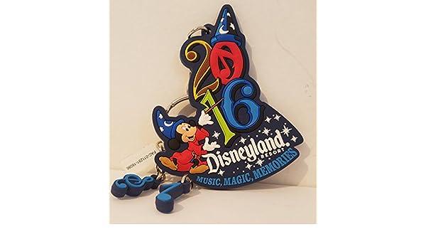 Disneyland Resort 2016 Sorcerer Mickey Mouse de goma llavero ...