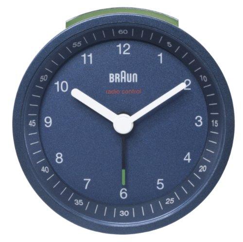 Braun BNC007BLBL-MSF Radio Controlled Alarm Clock - Blue