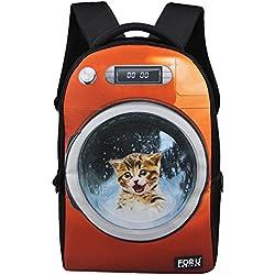 Cat Backpack Funny Animal Cat Pattern Travel School Backpacks for Women d6a5b22e49845