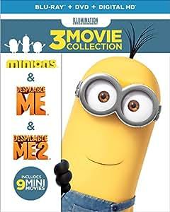 Despicable Me Collection: (Minions / Despicable Me / Despicable Me 2) [Blu-ray]